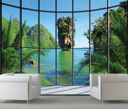 Thailand Islands view wallpaper mural